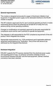 Hirschmann Automation And Control Ewlan1 802 11abgn Module