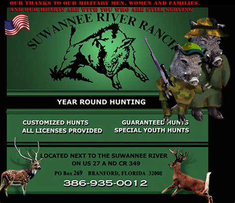 suwannee river ranch hunting preservetrophiesflorida