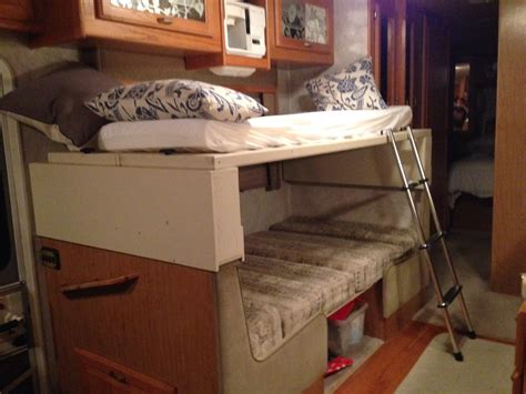 rv bunk mattress how and exciting rv bunk beds in small bedroom
