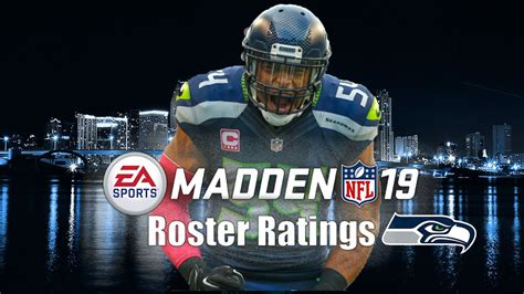 seattle seahawks madden  player ratings youtube