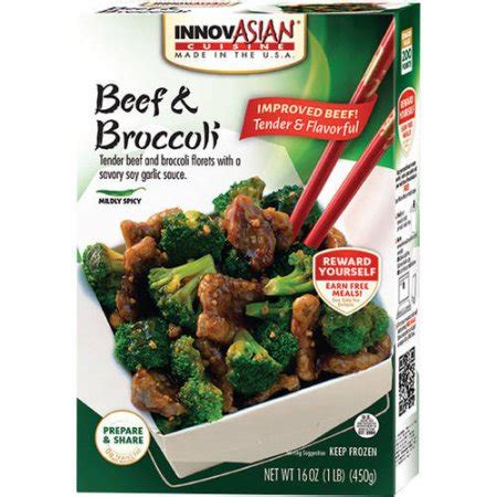 innovation cuisine innovasian cuisine beef broccoli family style entree kit 18 oz walmart com