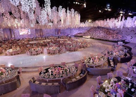 beautiful decor  stars wedding qatar wedding