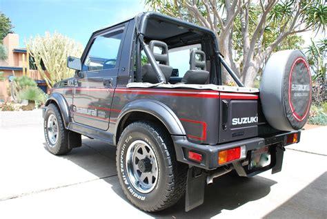 Suzuki Jeep 1980 trail tested time machine 1987 suzuki samurai jx se