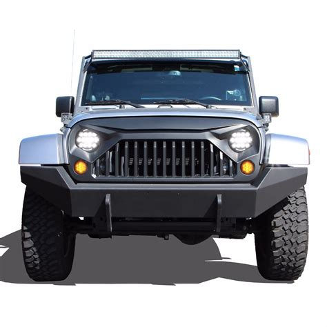 jeep grill jeep wrangler gladiator grille angry bird grille optix