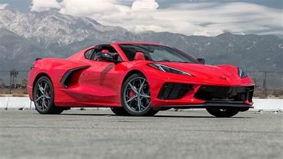 Corvette C8 Chevrolet Stingray Convertible Three Quarter