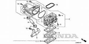 Honda Engines Gx690h Vxc2 Engine  Chn  Vin  Gdach