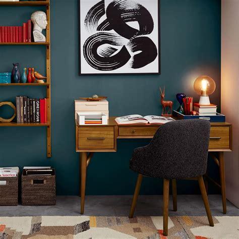 west elm office desk nice mid century desk acorn west elm greenvirals style