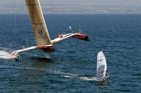 Trimaran Heavy Weather by Large Trimaran Sailboat All About Water In 2018
