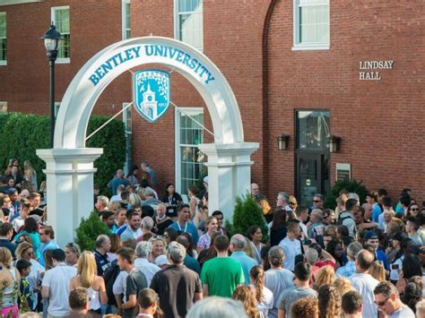 bentley university class moves waltham ma patch