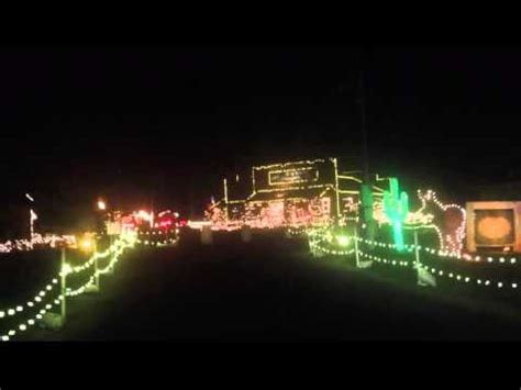 a drive through tour of overly s country christmas light