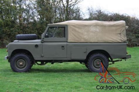 land rover series 3 109 quot ex mod 200 tdi soft top