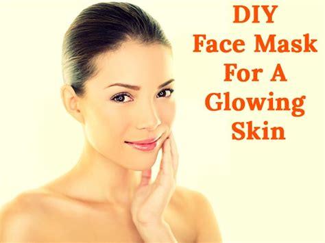 diy tomato banana  honey face mask   glowing skin