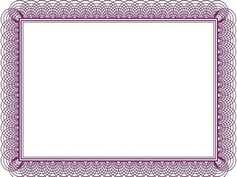 certificate borders template template updatecom