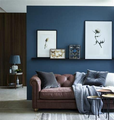 deco chambre bleu et marron couleur peinture salon conseils et 90 photos pour vous