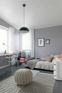 jugendzimmer ideen so gestalten sie ein jugendendzimmer With beautiful mur couleur lin et gris 17 deco style maison de campagne nature scandinave et