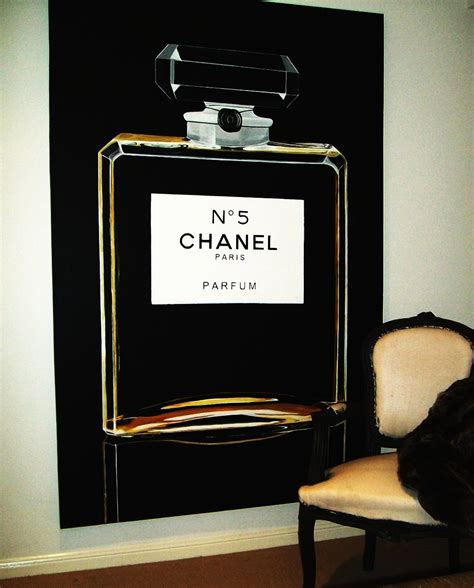 chanel themed bedroom decor my chanel wall home decor