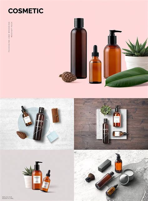 5 mockups plastic jar for cosmetic and medical products. Cosmetic Mockup Pack | Cosmetics mockup, Cosmetic ...