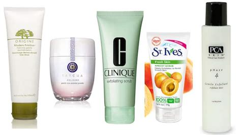 5 great exfoliating products for sensitive skin
