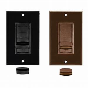 Slider Volume Control Color Change Kit  Black Or Brown