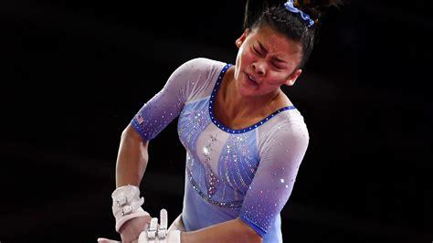 opinion  gymnast sunisa lee finds  balancing
