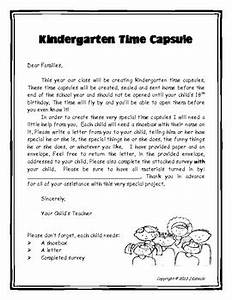 kindergarten time capsule by camp kindergarten tpt With letters to my baby a paper time capsule