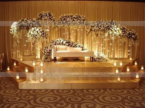 awesome indian wedding stage decoration ideas youtube