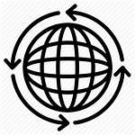 Icon Globalization Internationalization Digital Global Harmony Synchronization