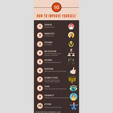 How To Improve Yourself Infographic  Elearning Infographics