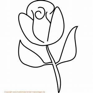 Blumen Zum Ausdrucken : blumen malvorlagen flower coloring pinterest flower colors ~ Watch28wear.com Haus und Dekorationen