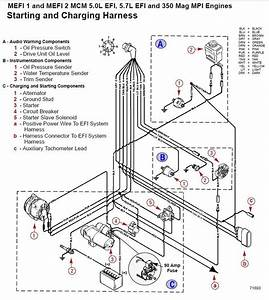 Mercruiser Alpha One Trim Pump Wiring Diagram