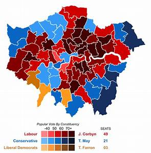 Elections 2017 Candidats : file united kingdom general election 2017 results map london svg wikipedia ~ Maxctalentgroup.com Avis de Voitures
