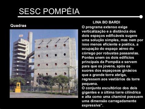 foto de Estudo de Caso: Sesc Pompeia SP