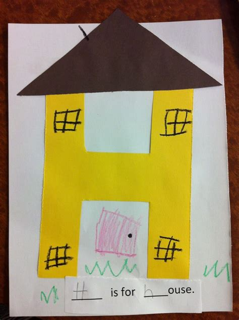 letter h crafts ideas preschool and kindergarten 930 | free alphabet letter h printable crafts for preschool home