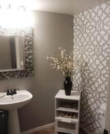 bathroom wall stencil ideas diy bathroom makeover using stencils stencil stories