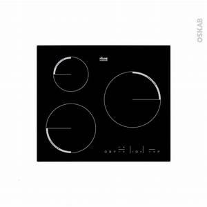 Plaque Induction 3 Feux : plaque de cuisson 3 feux induction 60 cm verre noir faure ~ Dailycaller-alerts.com Idées de Décoration