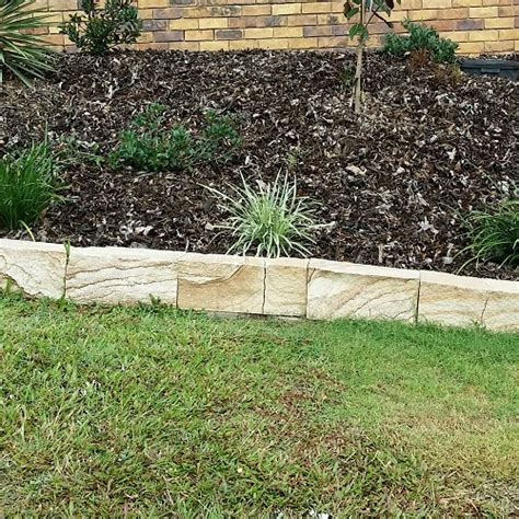 garden border blocks sandstone garden edging blocks lm