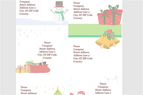 microsofts   diy christmas templates