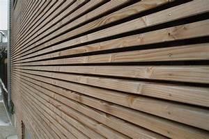 Bardage Claire Voie Horizontal : bardage bois exterieur profil claire voie prix fabricant ~ Carolinahurricanesstore.com Idées de Décoration