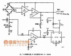 Pressure Sensor Signal Regulating Circuit