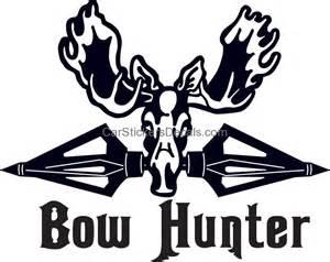 Broadheads and Moose Sticker