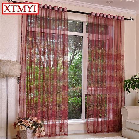 buy european style tulle curtains