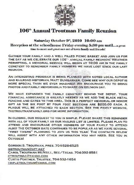 family reunion welcome letter 36 best images about family reunion ideas on