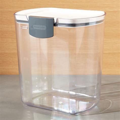 progressive prokeeper  qt flour storage container