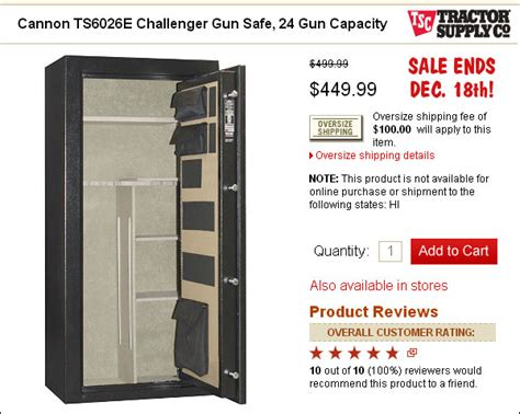 Tractor Supply Gun Cabinets by Safe 171 Daily Bulletin