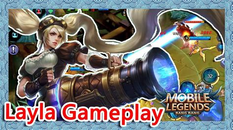 Layla Gameplay|brawl Mode|【mobile Legends】
