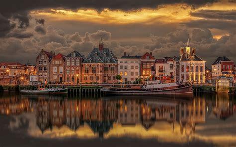 port  maasslui netherlands  ultra hd desktop