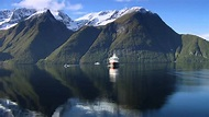 Stunning Hjørundfjord with Discover The World Cruising ...