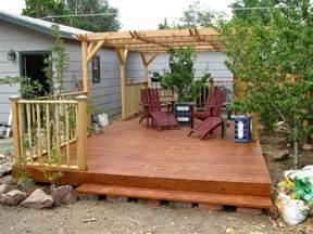design floating deck footings doherty house creating