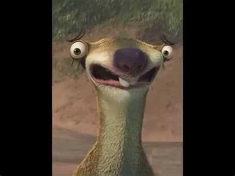 Ice Age  Sid The Sloth Youtube