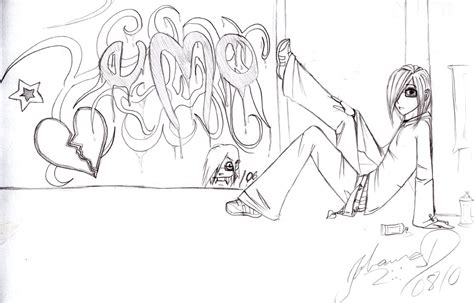 Grafiti Emo : Emo Graffiti By Johannakun On Deviantart